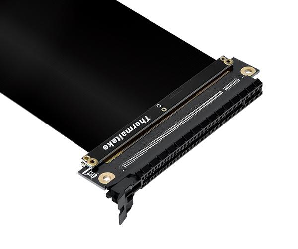 Thermaltake PCI-E x16 3.0 Black Extender Riser Cable 200mm